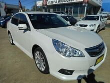 2011 Subaru Liberty MY11 2.5I White Continuous Variable Sedan Belconnen Belconnen Area Preview