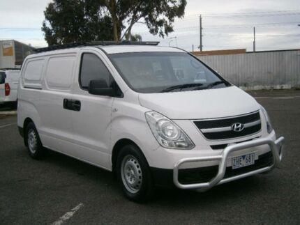 2012 Hyundai iLOAD TQ MY11 White 5 Speed Automatic Van Braybrook Maribyrnong Area Preview
