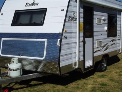 Ranger, 16' full van, A/C, R/out awning, Walls Penrith Penrith Area Preview