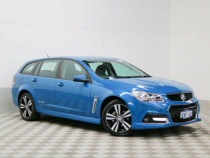 2015 Holden Commodore VF MY15 SV6 Storm Blue 6 Speed Automatic Sportswagon Morley Bayswater Area Preview