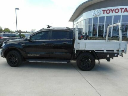 2015 Ford Ranger PX MkII Wildtrak 3.2 (4x4) Black 6 Speed Automatic Dual Cab Pick-up Singleton Heights Singleton Area Preview
