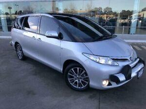 2017 Toyota Tarago GSR50R MY16 Ultima V6 Silver Pearl 6 Speed Automatic Wagon Kilmore Mitchell Area Preview