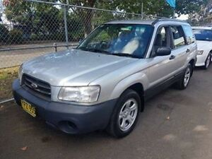 2003 Subaru Forester MY03 X Silver 5 Speed Manual Wagon Campbelltown Campbelltown Area Preview