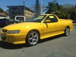 2006 Holden Ute Yellow Automatic Utility Woodridge Logan Area Preview