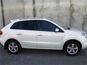 2010 Renault Koleos H45 Privilege White Constant Variable Wagon Mount Hawthorn Vincent Area Preview