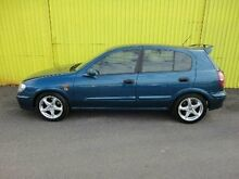 2001 Nissan Pulsar N16 ST Blue 5 Speed Manual Hatchback Kippa-ring Redcliffe Area Preview