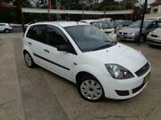 2006 Ford Fiesta WQ LX White 4 Speed Automatic Hatchback Sylvania Sutherland Area Preview