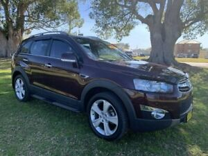 2013 Holden Captiva CG Series II MY12 7 AWD LX Maroon 6 Speed Sports Automatic Wagon Kempsey Kempsey Area Preview