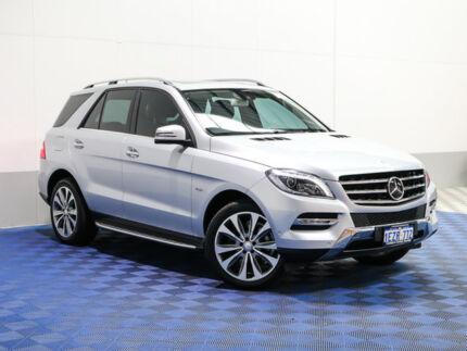 2012 Mercedes-Benz ML 166 350 CDI Bluetec (4x4) Silver 7 Speed Automatic Wagon