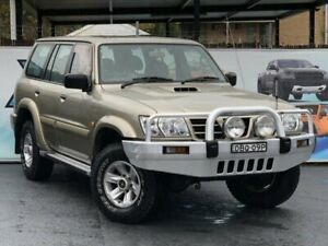 2003 Nissan Patrol GU III MY2003 ST-L Champagne Automatic Wagon Campbelltown Campbelltown Area Preview
