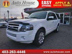 2011 FORD EXPEDITION LIMITED NAVIGATION BACKUP CAM 3RD ROW SEAT