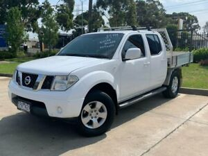 2010 Nissan Navara D40 ST White 6 Speed Manual Utility Brooklyn Brimbank Area Preview