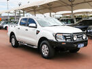 2014 Ford Ranger PX XLS 3.2 (4x4) White 6 Speed Automatic Dual Cab Utility