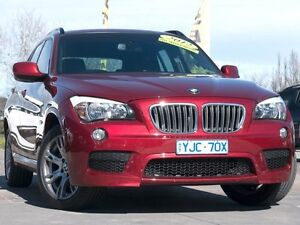 2011 BMW X1 E84 MY0911 xDrive23d Steptronic AWD Red 6 Speed Sports Automatic Wagon Pearce Woden Valley Preview