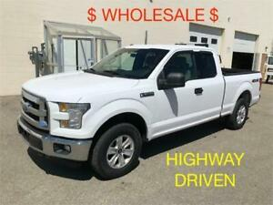 2015 Ford F-150, Extended Cab 4x4 Short Box XLT, WHOLESALE $$