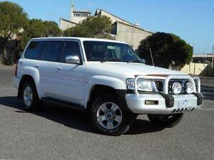 2006 Nissan Patrol GU IV TI (4x4) White 5 Speed Auto Sports Shift Wagon Maidstone Maribyrnong Area Preview
