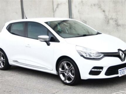 2015 Renault Clio IV B98 GT White Sports Automatic Dual Clutch Hatchback