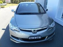 2006 Honda Civic 40 VTi-L Grey 5 Speed Automatic Sedan Port Macquarie 2444 Port Macquarie City Preview