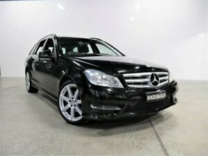2014 Mercedes-Benz C200 W204 MY14 Obsidian Black 7 Speed Automatic G-Tronic Wagon Petersham Marrickville Area Preview