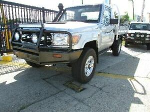 2010 Toyota Landcruiser VDJ79R MY10 Workmate Silver 5 Speed Manual Cab Chassis Strathpine Pine Rivers Area Preview
