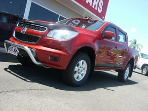 2013 Holden Colorado RG MY13 LT Crew Cab Red 6 Speed Sports Automatic Utility Svensson Heights Bundaberg City Preview