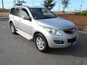 2012 Great Wall X200 CC6461KY MY11 (4x4) Silver 5 Speed Automatic Wagon