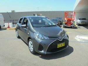 2015 Toyota Yaris NCP130R MY15 Ascent Graphite 4 Speed Automatic Hatchback Belmore Canterbury Area Preview