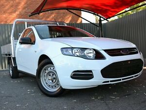 2014 Ford Falcon FG MkII EcoLPi Super Cab White 6 Speed Automatic Cab Chassis Fawkner Moreland Area Preview