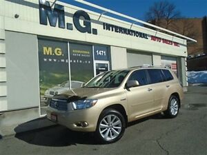 2009 Toyota Highlander Hybrid Limited 7 Pass. w/Leather/Navi