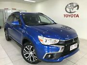 2017 Mitsubishi ASX XC MY17 LS (2WD) Blue Continuous Variable Wagon Bungalow Cairns City Preview