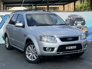2010 Ford Territory SY MkII Ghia Silver Sports Automatic Wagon Campbelltown Campbelltown Area Preview