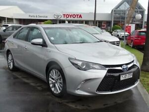 2017 Toyota Camry AVV50R MY16 Atara SL Hybrid Silver Continuous Variable Sedan South Nowra Nowra-Bomaderry Preview