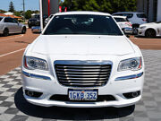2012 Chrysler 300 LX MY12 Limited White 5 Speed Sports Automatic Sedan Alfred Cove Melville Area Preview
