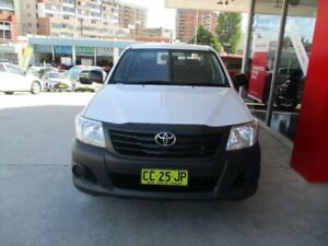 2014 Toyota Hilux TGN16R MY14 Workmate Glacier White 4 Speed Automatic Dual Cab Pick-up Hurstville Hurstville Area Preview