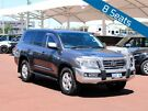2011 Toyota Landcruiser UZJ200R 09 Upgrade Sahara (4x4) Grey 5 Speed Automatic Wagon