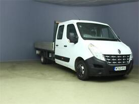 2013 RENAULT MASTER LL35 DCI 150 LWD DOUBLE CAB ALLOY DROPSIDE DRW RWD DROPSIDE
