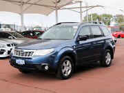 2013 Subaru Forester MY12 X Luxury Edition Blue 4 Speed Auto Elec Sportshift Wagon Morley Bayswater Area Preview