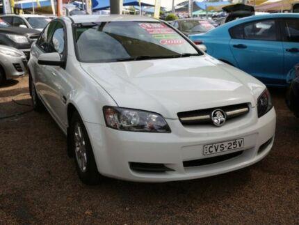 2010 Holden Commodore VE II Omega White 6 Speed Sports Automatic Sedan Minchinbury Blacktown Area Preview