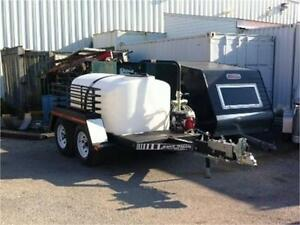 500 Gallon Water Tank Trailer - Last One
