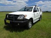 2007 Toyota Hilux GGN25R MY07 SR White 5 Speed Automatic Utility Archerfield Brisbane South West Preview