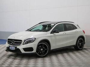 2016 Mercedes-Benz GLA X156 MY16 200 D White 7 Speed Auto Dual Clutch Wagon