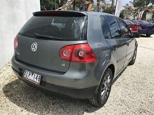 2004 Volkswagen Golf 1K 1.6 Trendline Grey 6 Speed Tiptronic Hatchback Seaford Frankston Area Preview