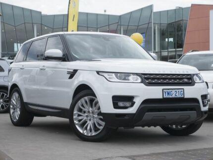 2017 Land Rover Range Rover Sport L494 17MY TdV6 CommandShift SE White 8 Speed Sports Automatic