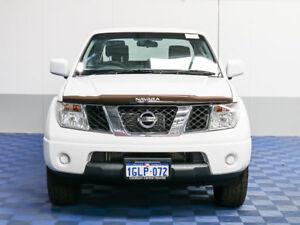 2011 Nissan Navara D40 ST (4x4) White 6 Speed Manual Dual Cab Pickup