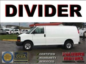 2012 GMC SAVANA 2500 WITH DIVIDER