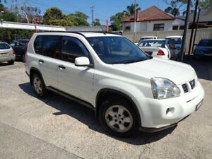 2009 Nissan X-Trail T31 MY10 ST (4x4) Pearl White 6 Speed CVT Auto Sequential Wagon Sylvania Sutherland Area Preview