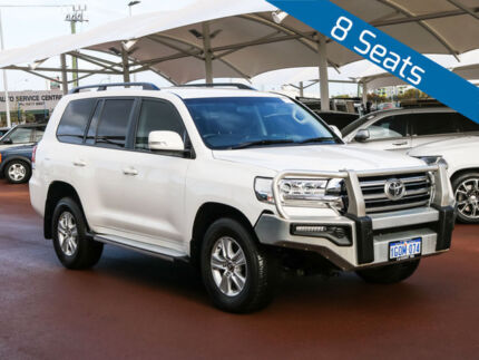 2016 Toyota Landcruiser VDJ200R MY16 GXL (4x4) White 6 Speed Automatic Wagon Jandakot Cockburn Area Preview