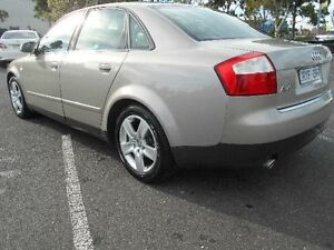 2002 Audi A4 B6 1.8T Gold CVT Multitronic Sedan Maidstone Maribyrnong Area Preview