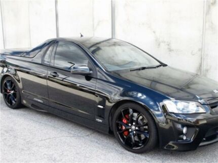 2009 Holden Special Vehicles Maloo E Series 2 Black Manual Utility