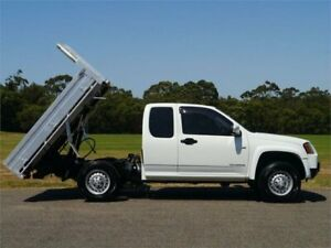 2010 Holden Colorado RC MY10 LX White Automatic Utility